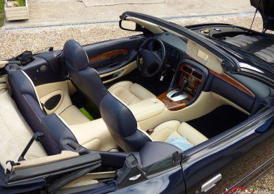 Aston Martin Db7 Volante Intérieur Alsace