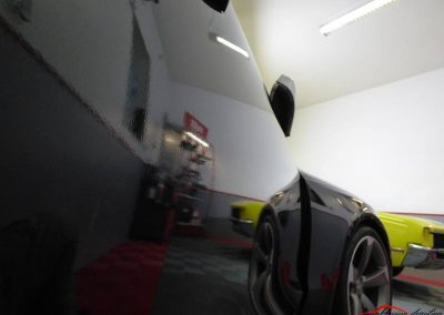 Audi Rs5 Poli lustré suppression de l'effet peau orange traitement céramique client de Evry 91