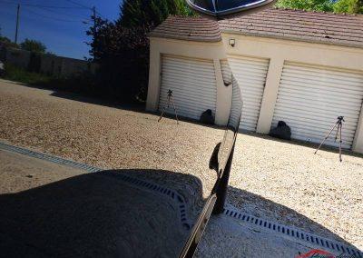 Porte Audi Rs5 Poli lustré suppression de l'effet peau orange traitement céramique client de Evry 91