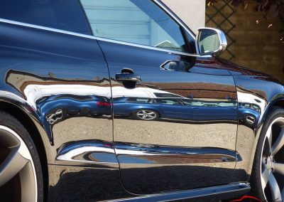 Audi Rs5 poli lustré suppression peau d'orange