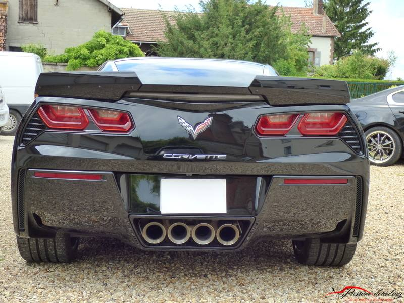 Corvette Z06 C7 Lavage, correction microrayures et traitement céramique client de Créteil 94 val de marne