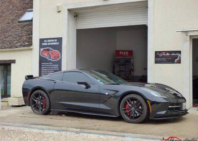 Corvette Z06 C7 Avant préparation esthétique Créteil 94 val de marne