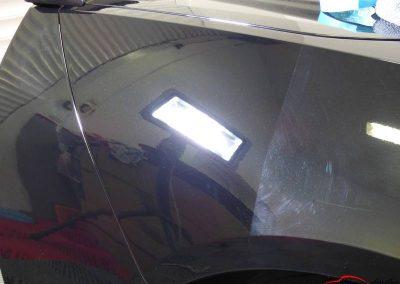 Corvette Z06 C7 50/50 correction des défauts du vernis Créteil 94 val de marne