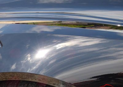 Corvette Z06 C7 Sun shoot suite a une correction des micro rayures et l'application d'un traitement céramique Créteil 94 val de marne