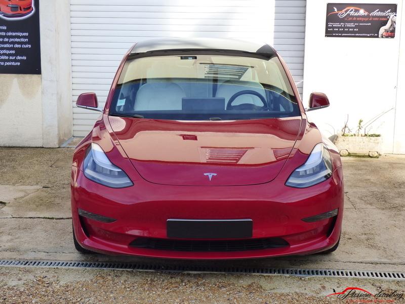 Tesla-modele-3-correction-defaut-vernis-traitement-ceramique